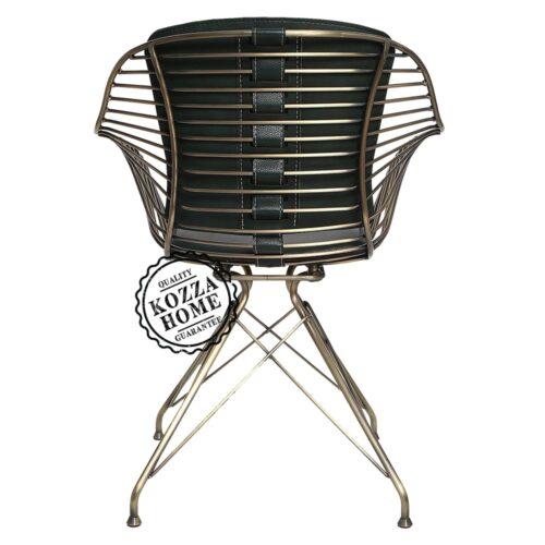 Endüstriyel M9 Sandalye Pirinç Eskitme