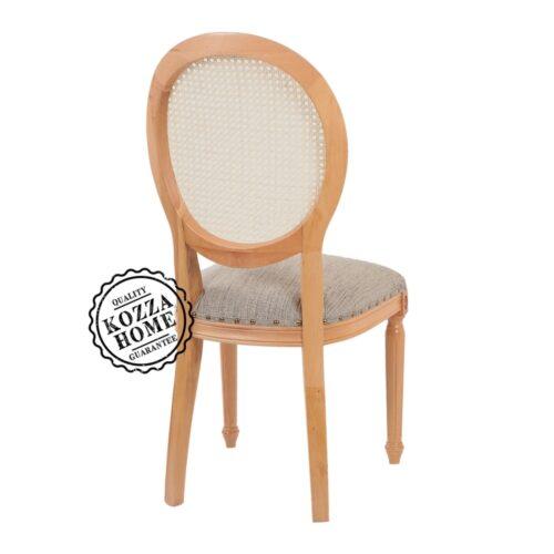 Caroline Hazeranlı Sandalye Naturel