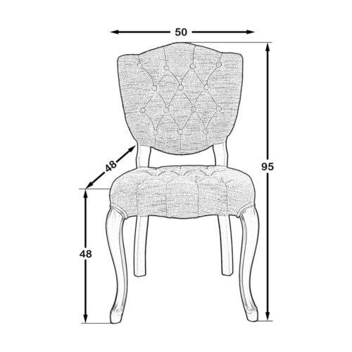 Pucket Sandalye Ceviz