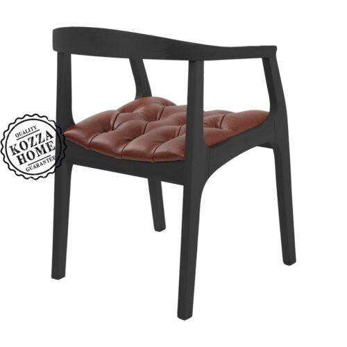 York Sandalye Siyah