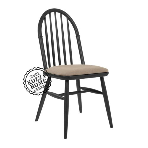 Alaska Sandalye Siyah