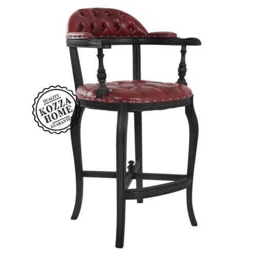 Bella Bar Sandalye Siyah