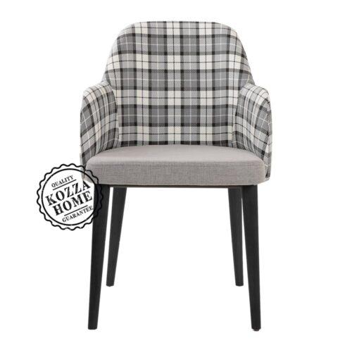 Costa Kollu Sandalye Siyah
