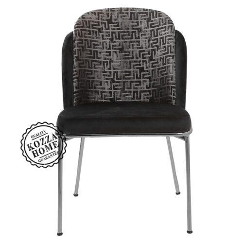 Mia Krom Sandalye Siyah