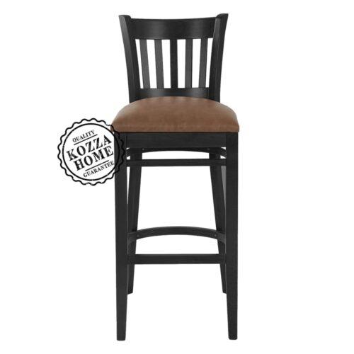Hooters Bar Sandalye Siyah