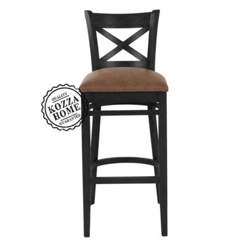 Bristol Bar Sandalye Siyah