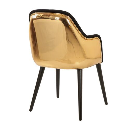 Sun Kollu Gold Sandalye